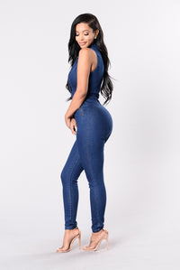 Jay Low Jumpsuit - Denim