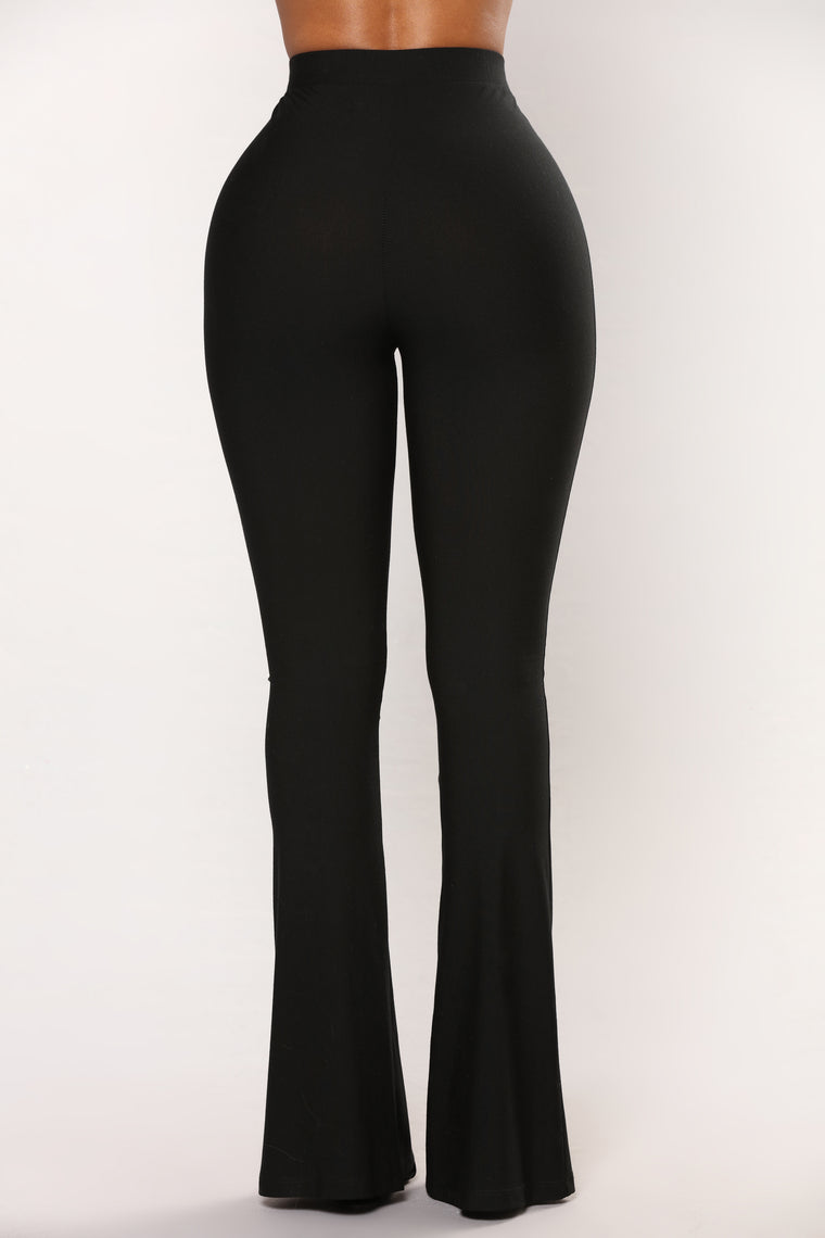 See You Looking Mesh Pants - Black