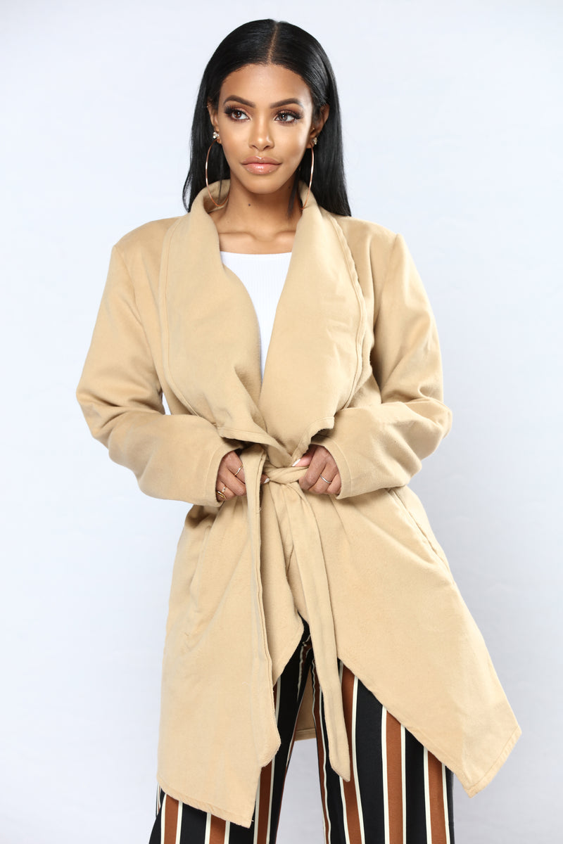 Manhattan Coat - Camel