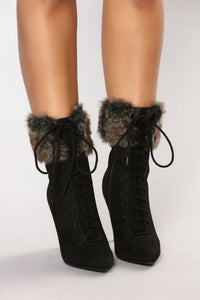 Dubois Stiletto Bootie - Black