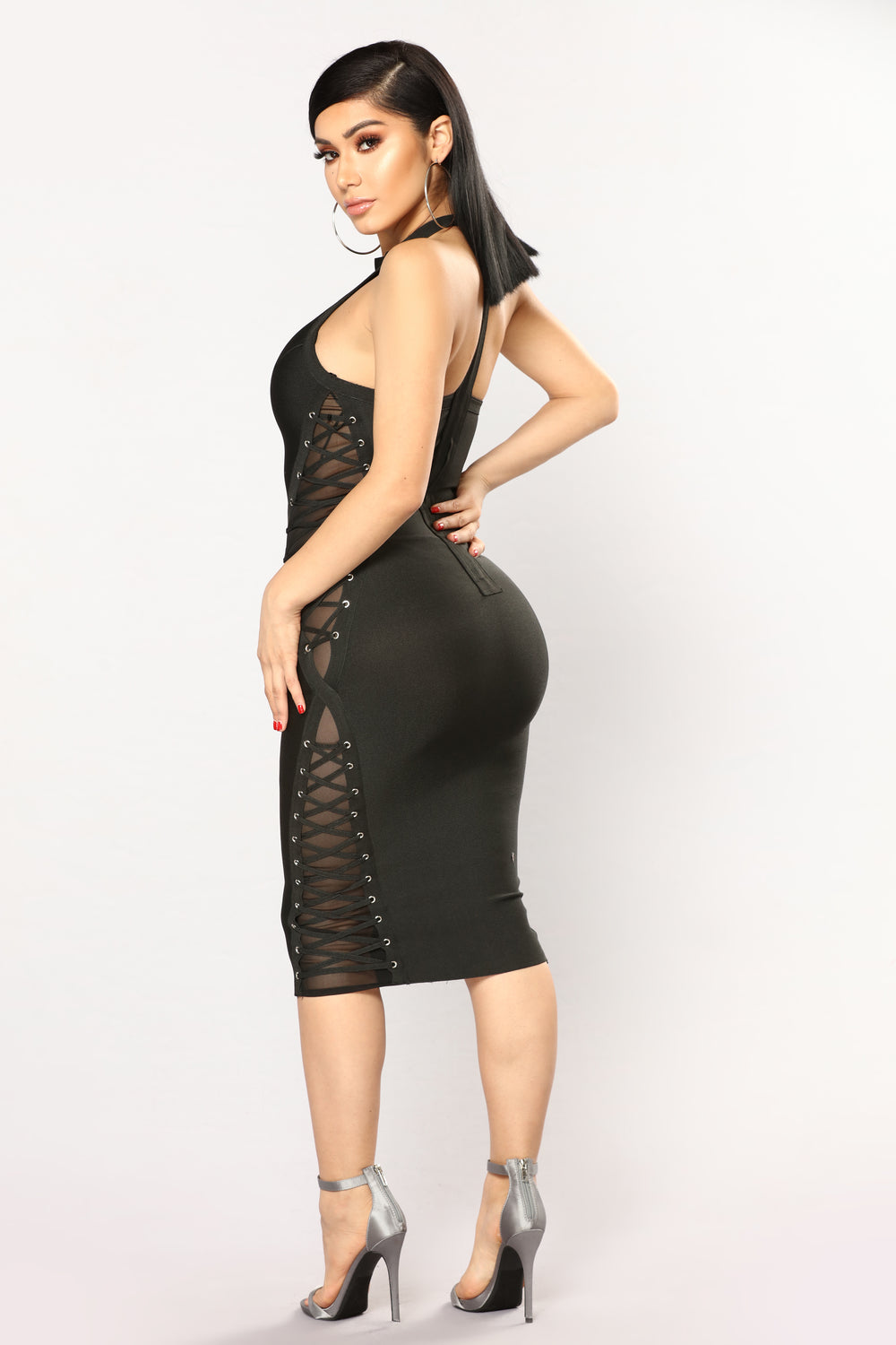Marseille Bandage Dress - Black