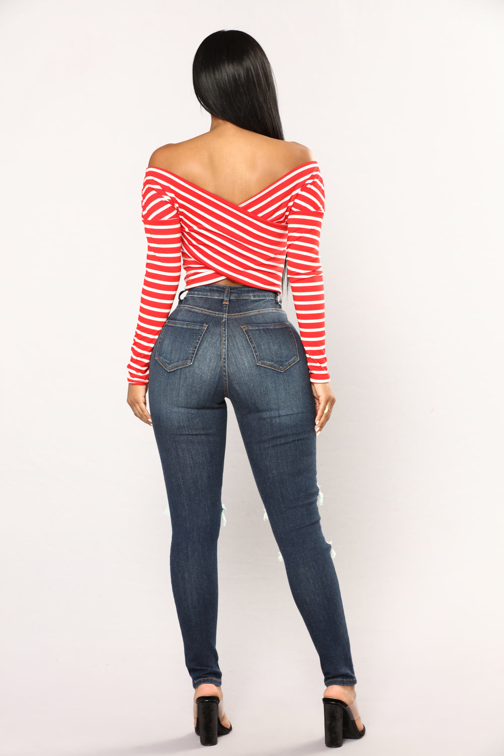 Malli Skinny Jeans - Dark Denim