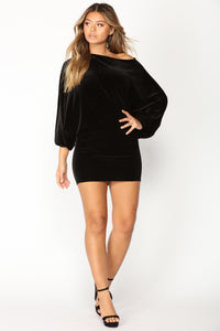 Val Mini Dress - Black