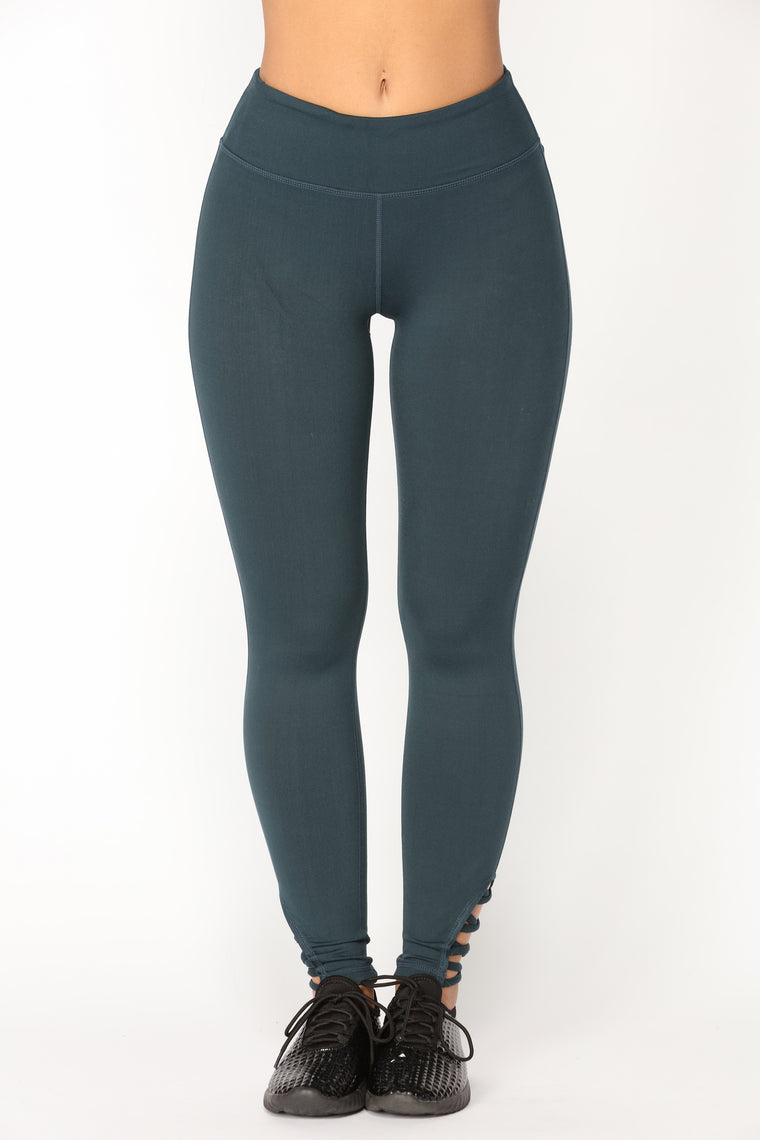 Asanas Leggings - Teal