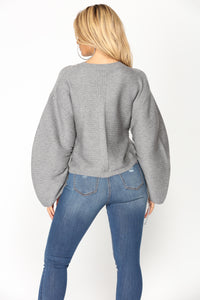 Games We Play Sweater - Heather Grey