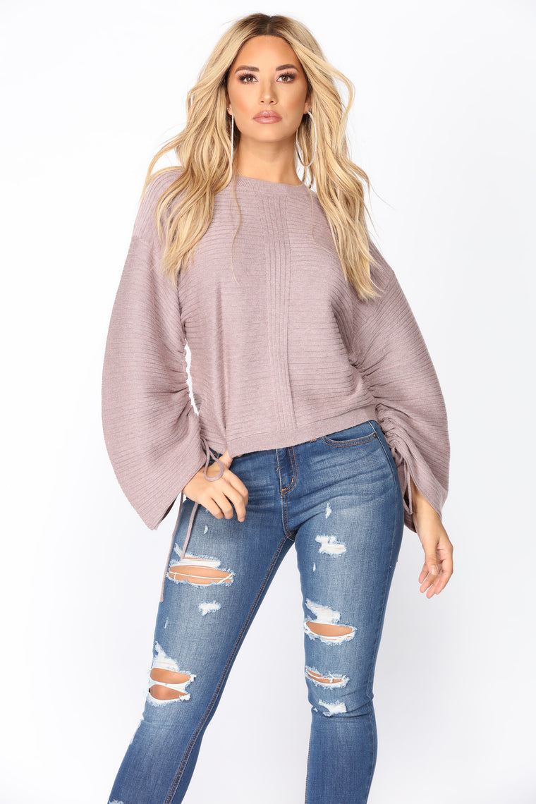 Games We Play Sweater - Lavender