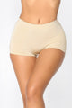 Apple Bottom Shapewear Shorts - Beige