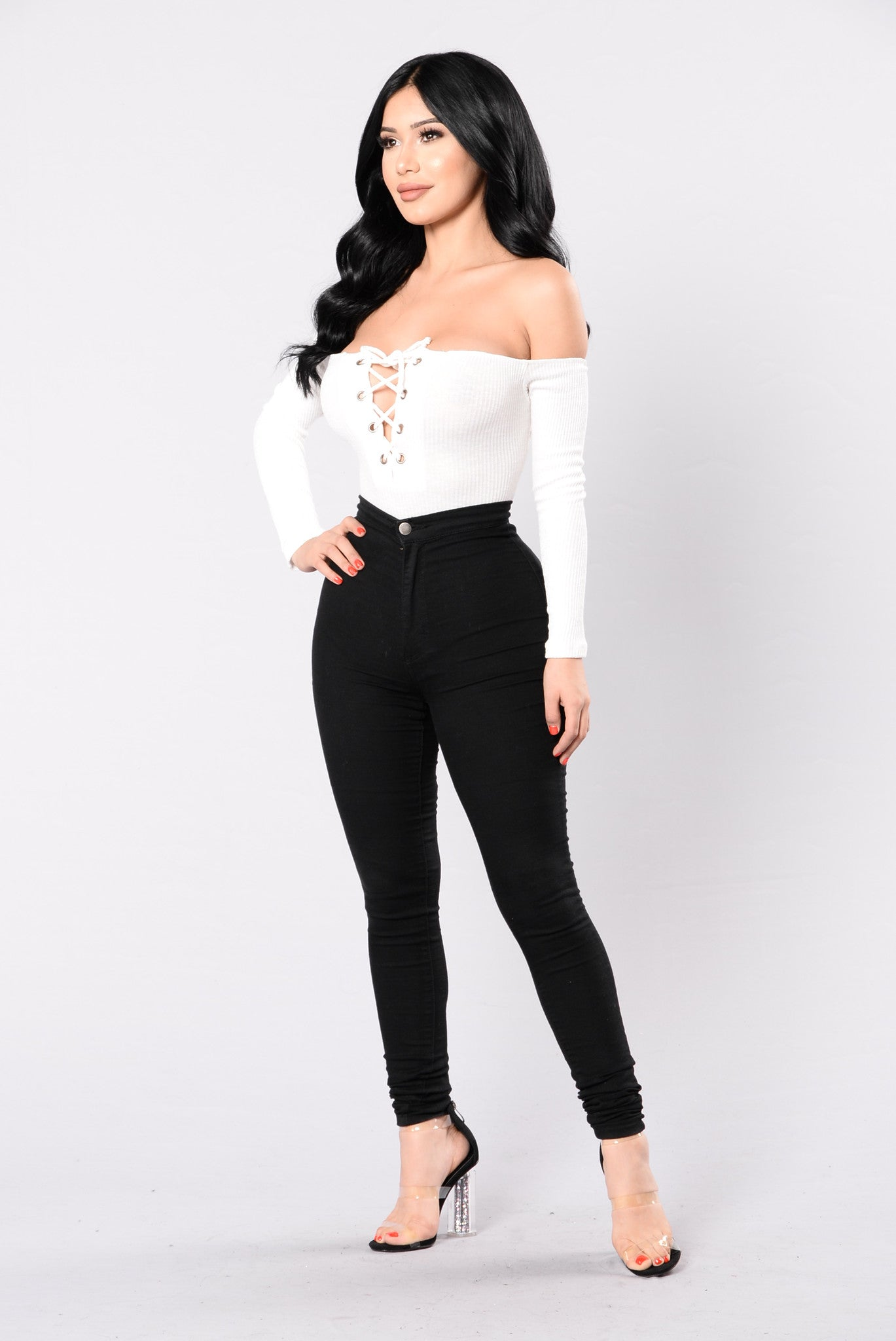 I ll Be Seeing You Bodysuit - Ivory 6d899d0df