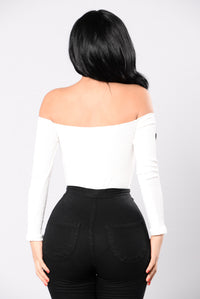 I'll Be Seeing You Bodysuit - Ivory