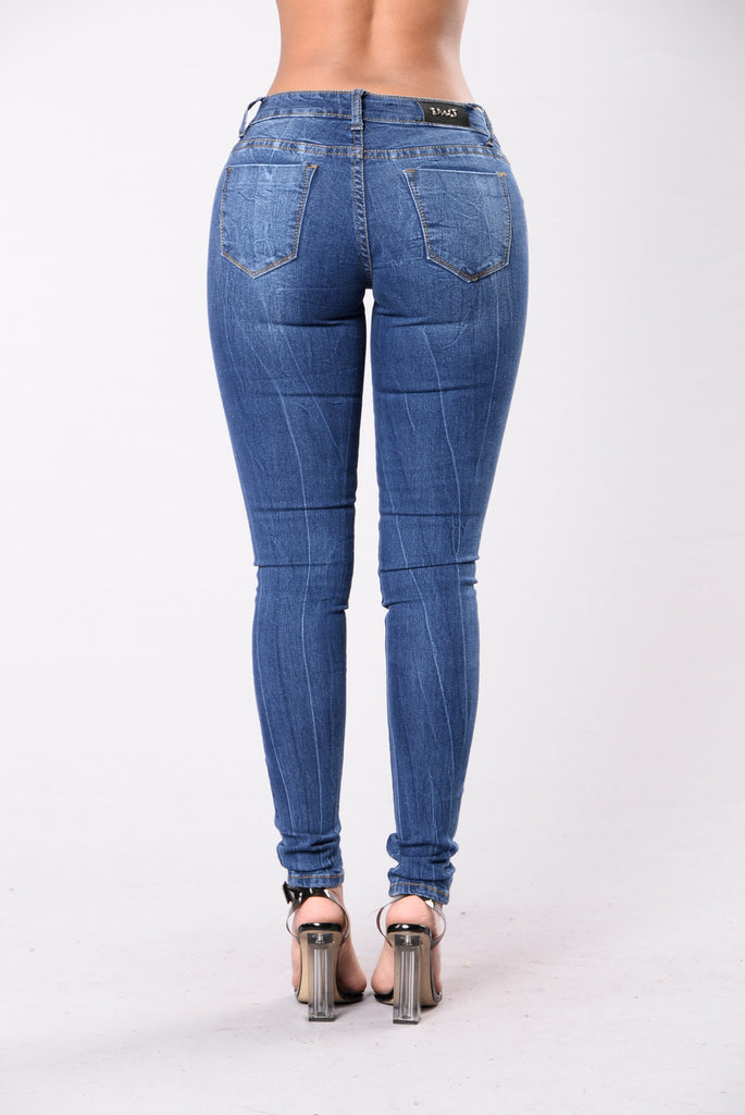 Come Alive In The Night Jeans - Dark