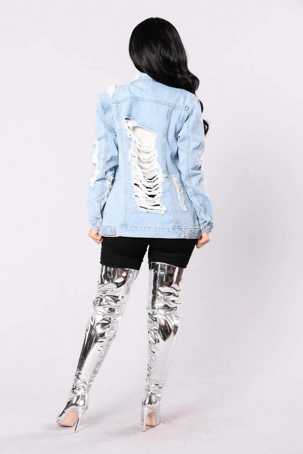 Stereo Love Denim Jacket - Bleach