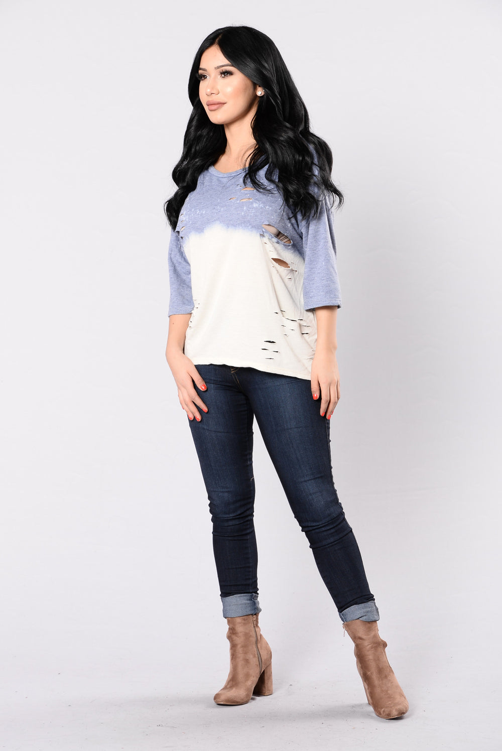 Boogie Nights Top - Blue