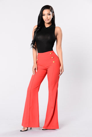 Burning Bridges Pants - Red