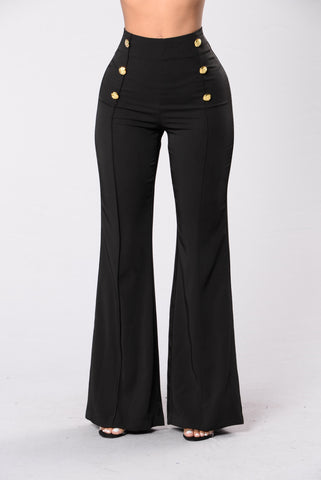 Burning Bridges Pants - Black