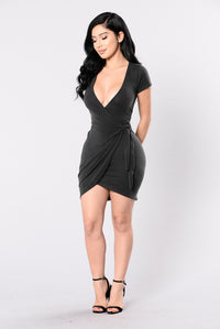 Rum Girl Dress - Black Angle 1