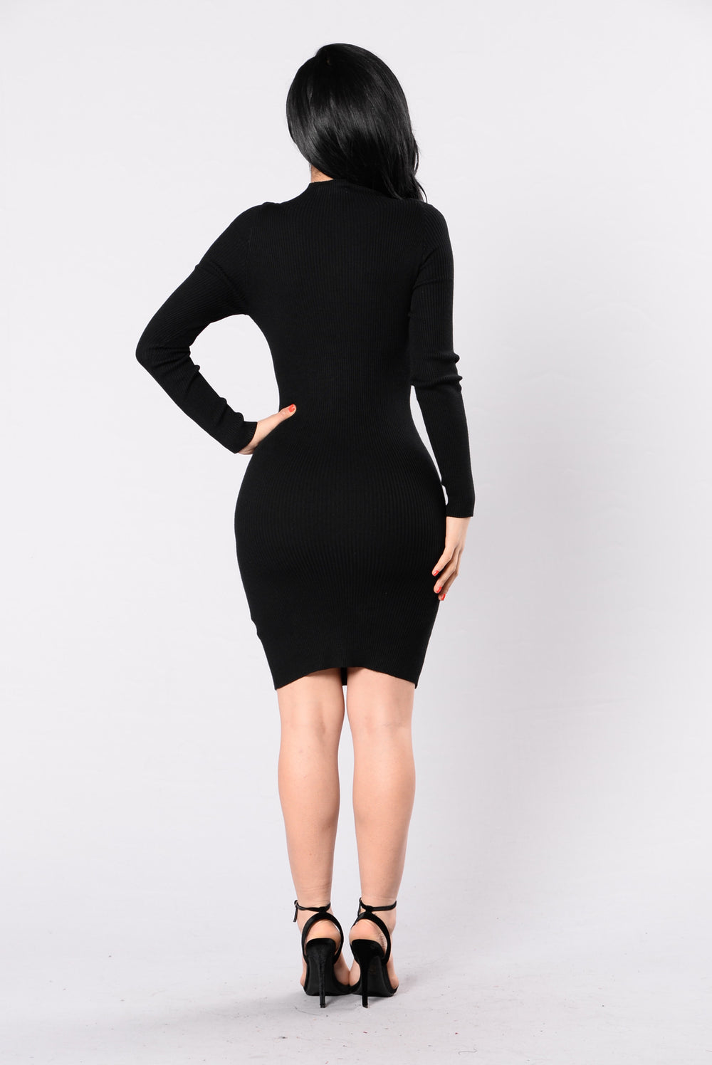 I Stay In Love Dress - Black