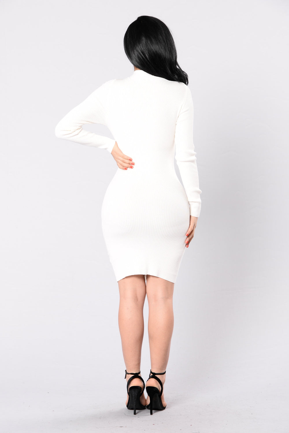 I Stay In Love Dress - Ivory