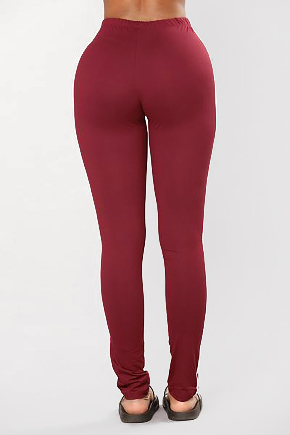 Knock Out Leggings - Wine