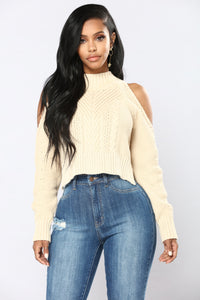 Touchin' Lovin Sweater - Taupe