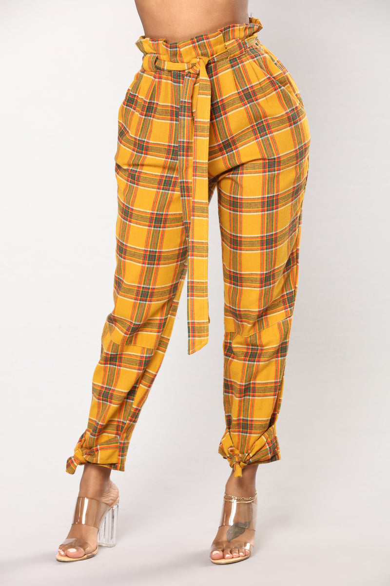 Act Proper Pants - Yellow