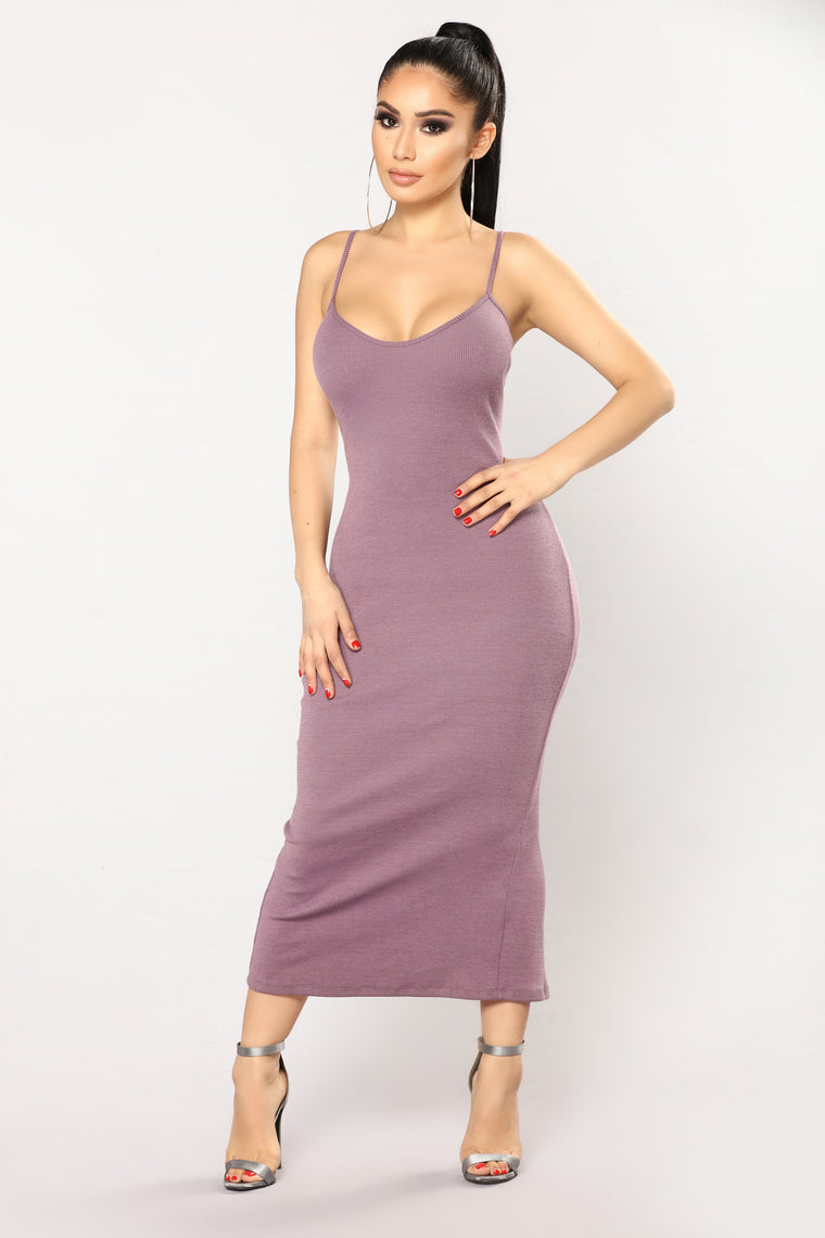 Madelon Dress - Dark Lavender