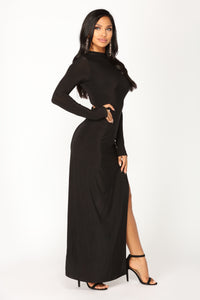 Ember Maxi Dress - Black