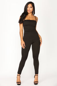 Amiee Jumpsuit - Black