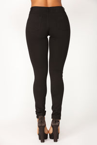 Penelope Ponte Pants - Black