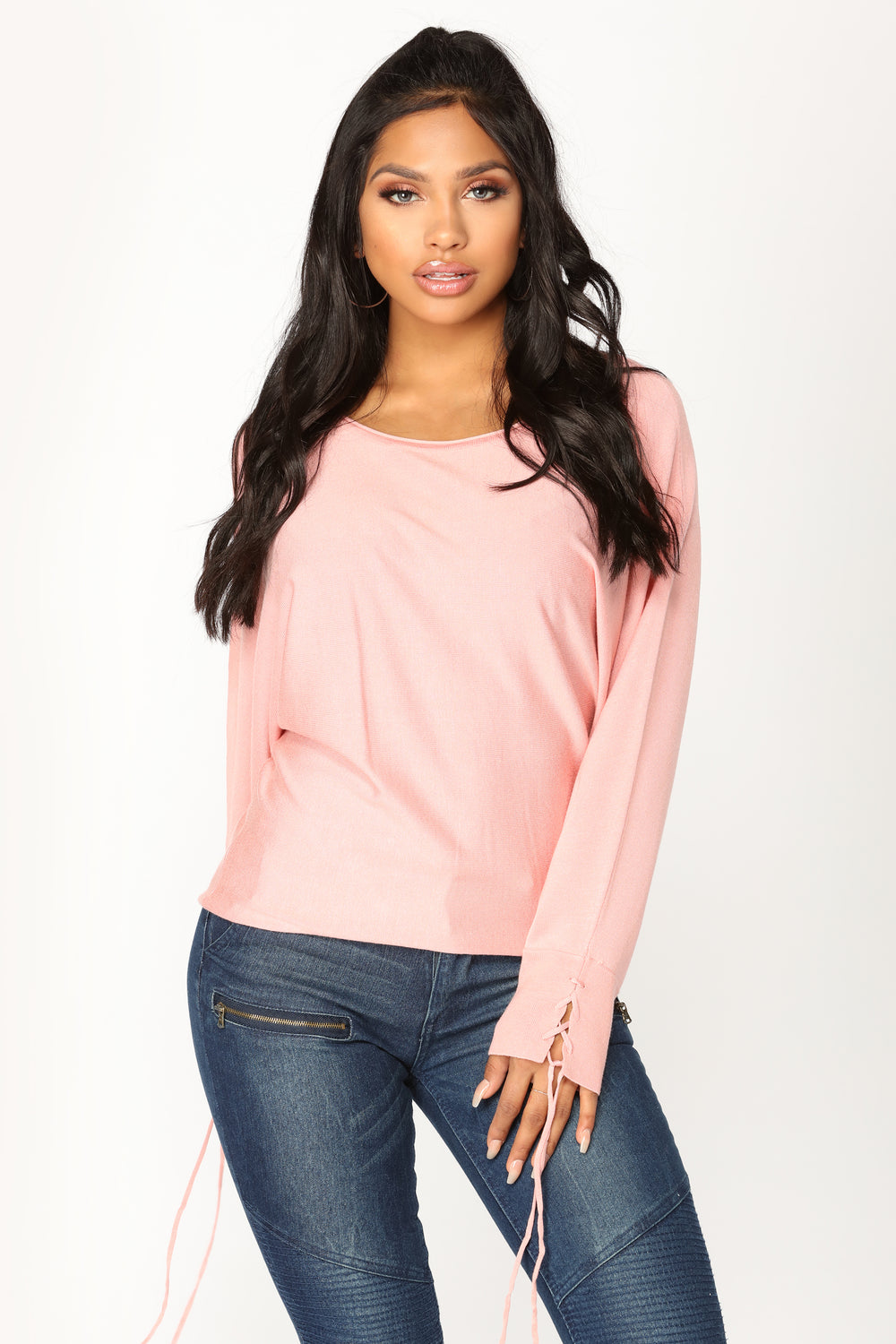 Over My Head Sweater - Coral