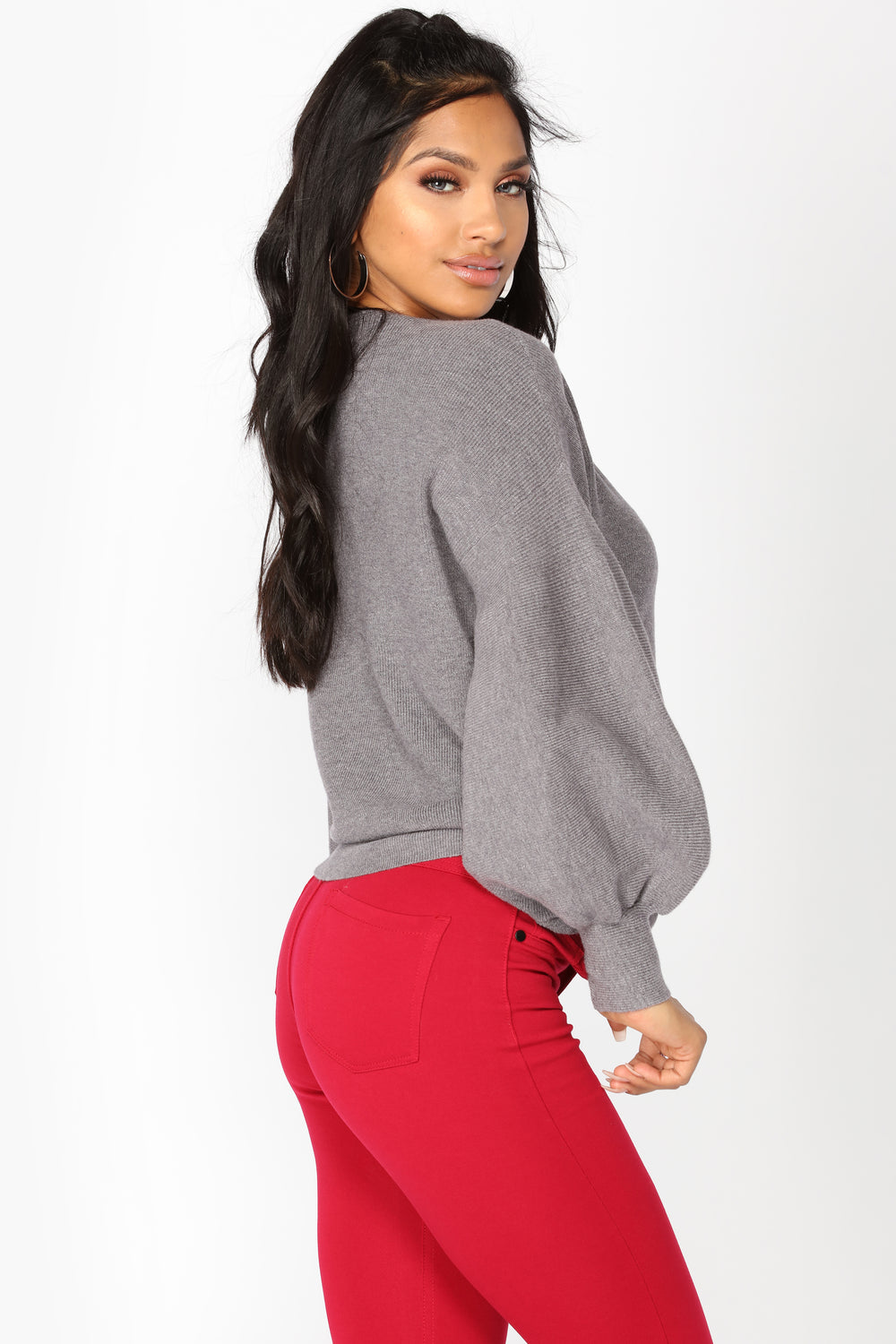 Already Taken Sweater - Heather Grey