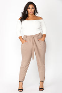 Push Play Pants - Mocha Angle 7