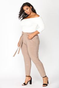Push Play Pants - Mocha Angle 10