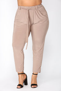 Push Play Pants - Mocha Angle 8