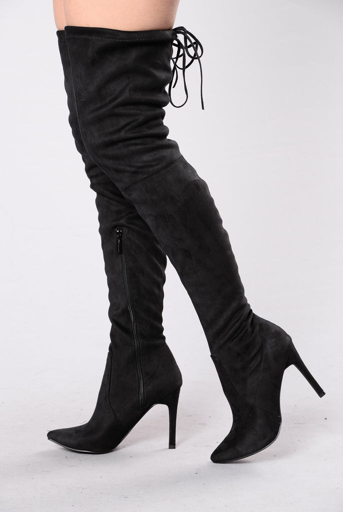 Pump Up The Jam Boot - Black