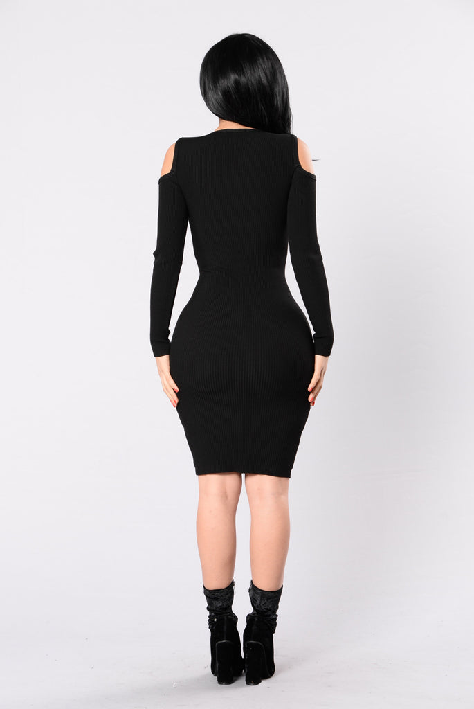 Spark Up Dress - Black