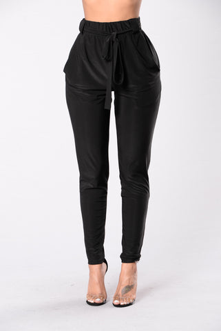 Push Play Pants - Black
