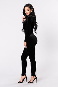 Bounce That Jumpsuit - Black Angle 3