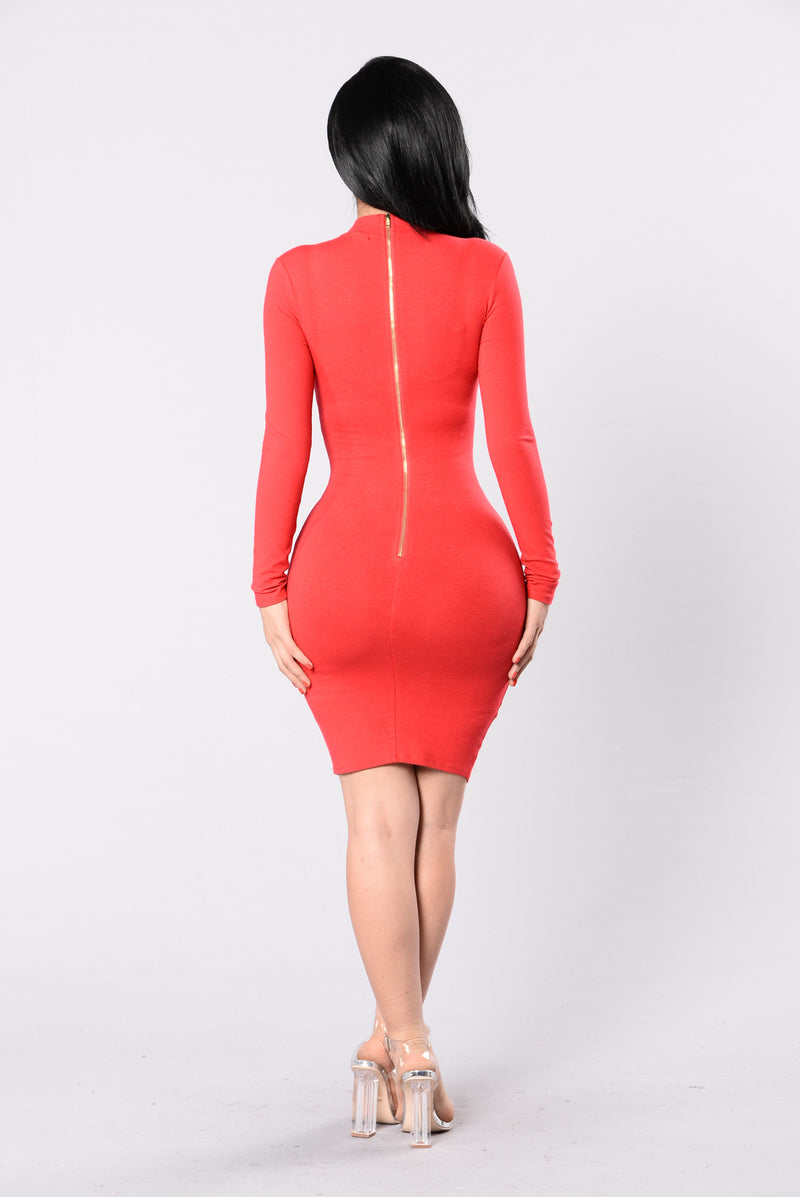 Pamela Dress - Red