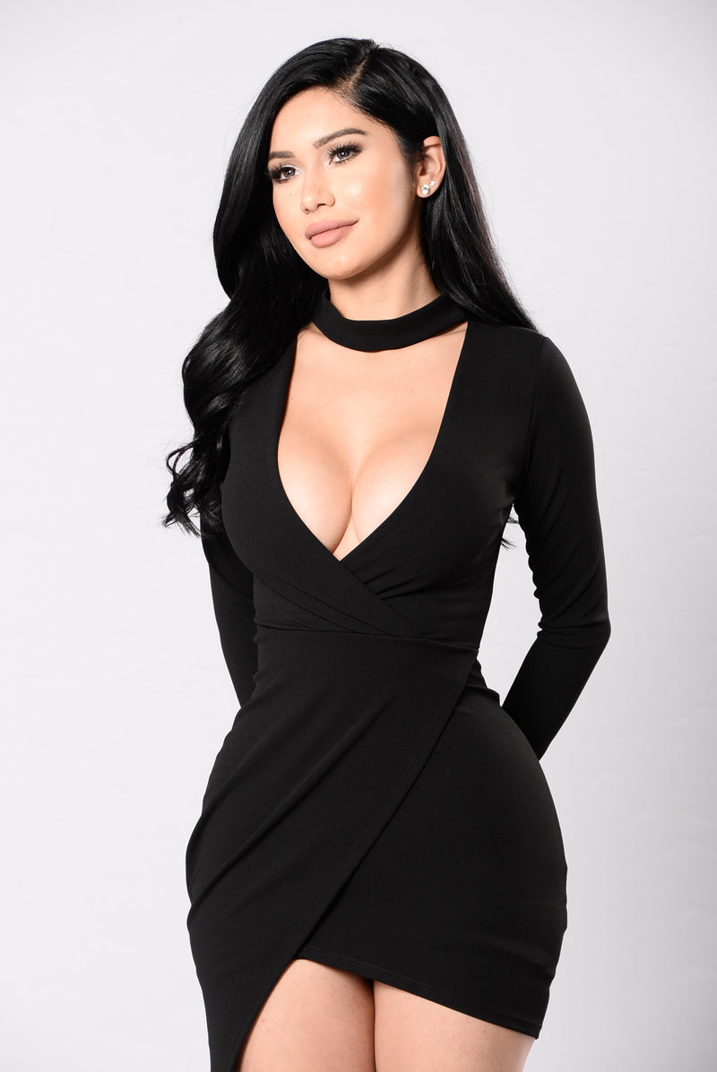 Break My Stride Dress - Black