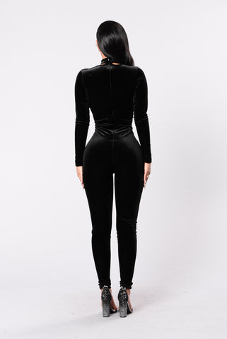 Sweet Life Jumpsuit - Black