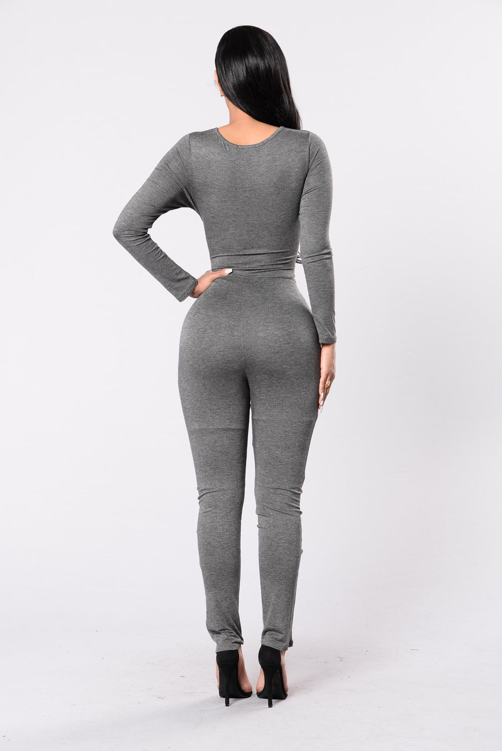 Ride Out Jumpsuit - Charcoal