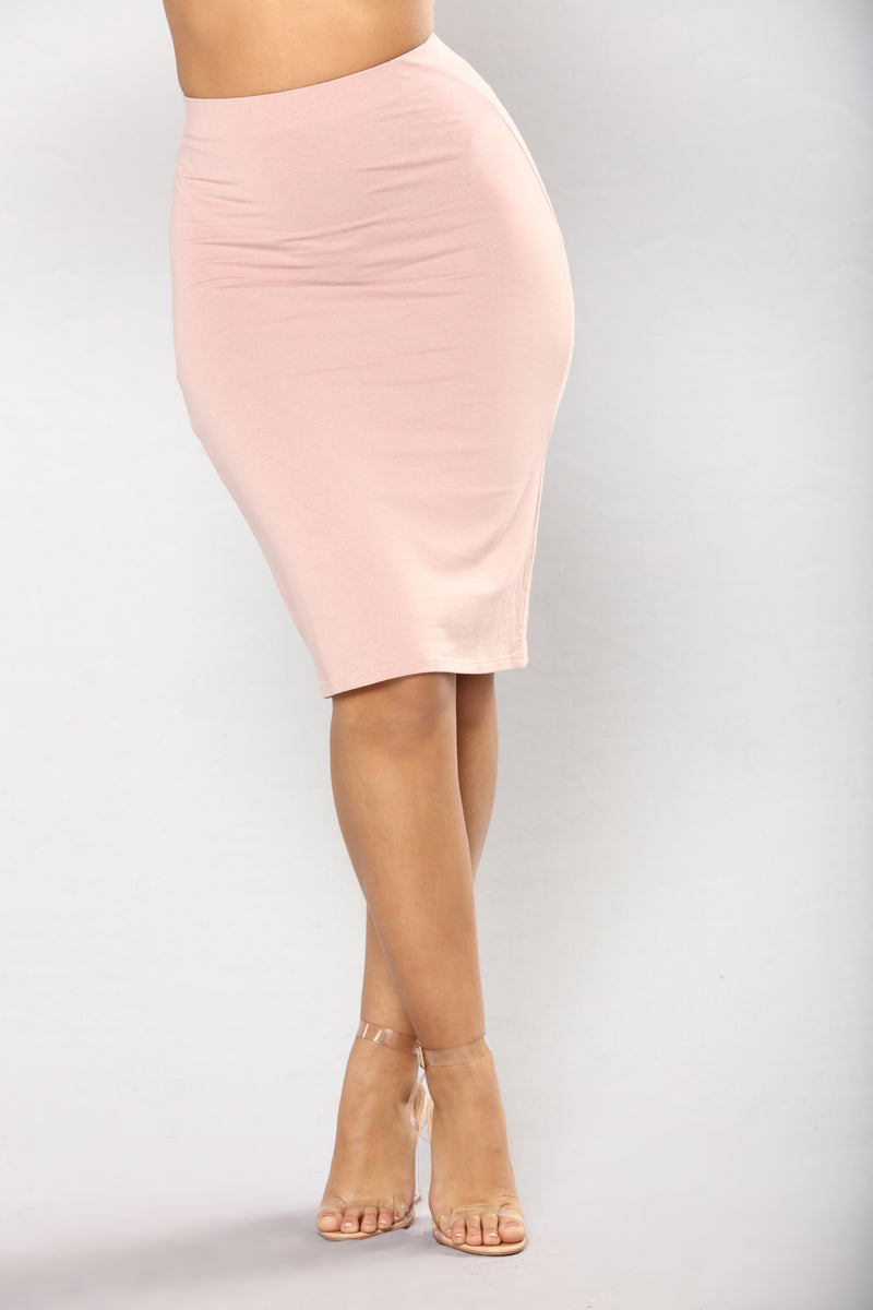 Don't Surrender Midi Skirt - Dark Mauve