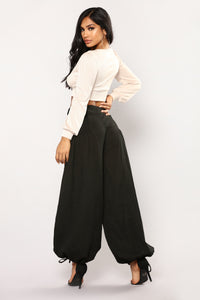 Gwen Trouser Pants - Black