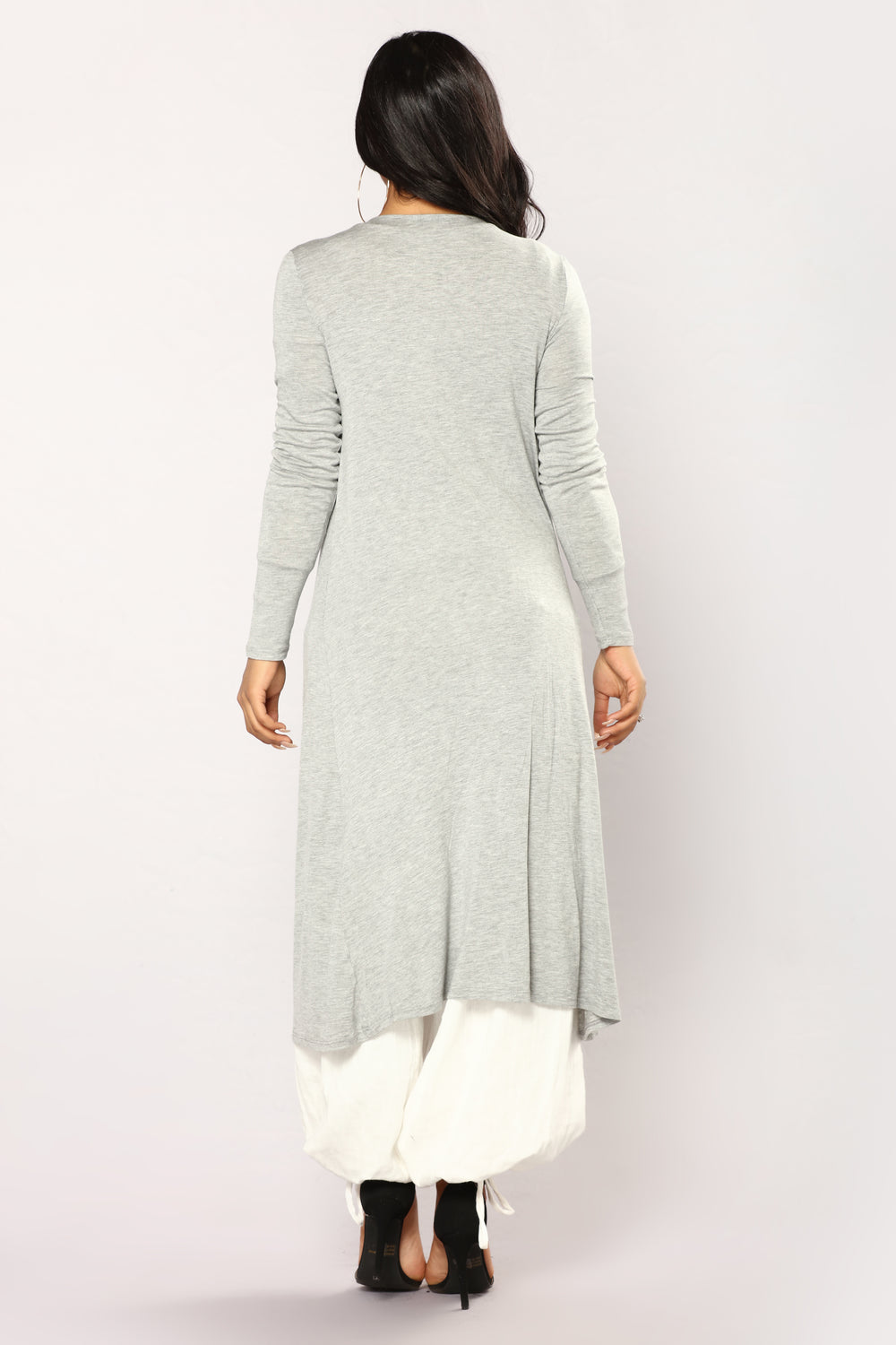 Bexley Duster - Heather Grey