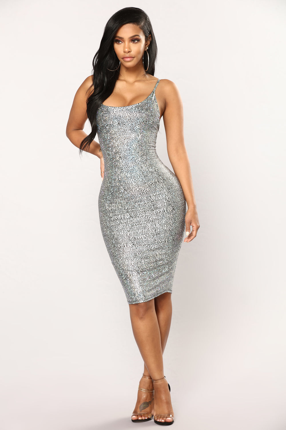 My Pebbles Dress - Silver