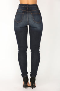 Living For The City Skinny Jeans - Dark Denim