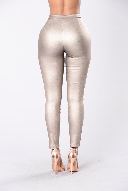Riding Down The Boulevard Pants - Bronze