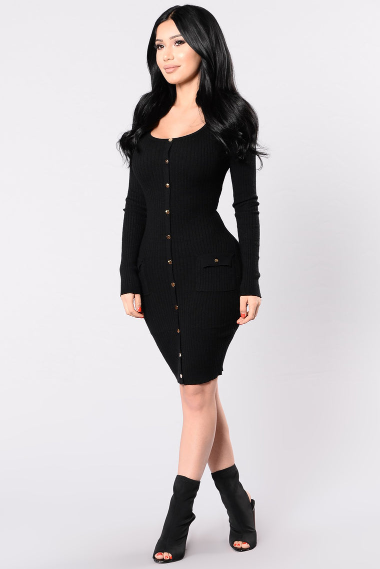 Sebone Dress - Black
