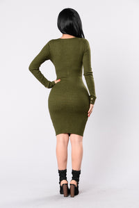 Sebone Dress - Hunter Green