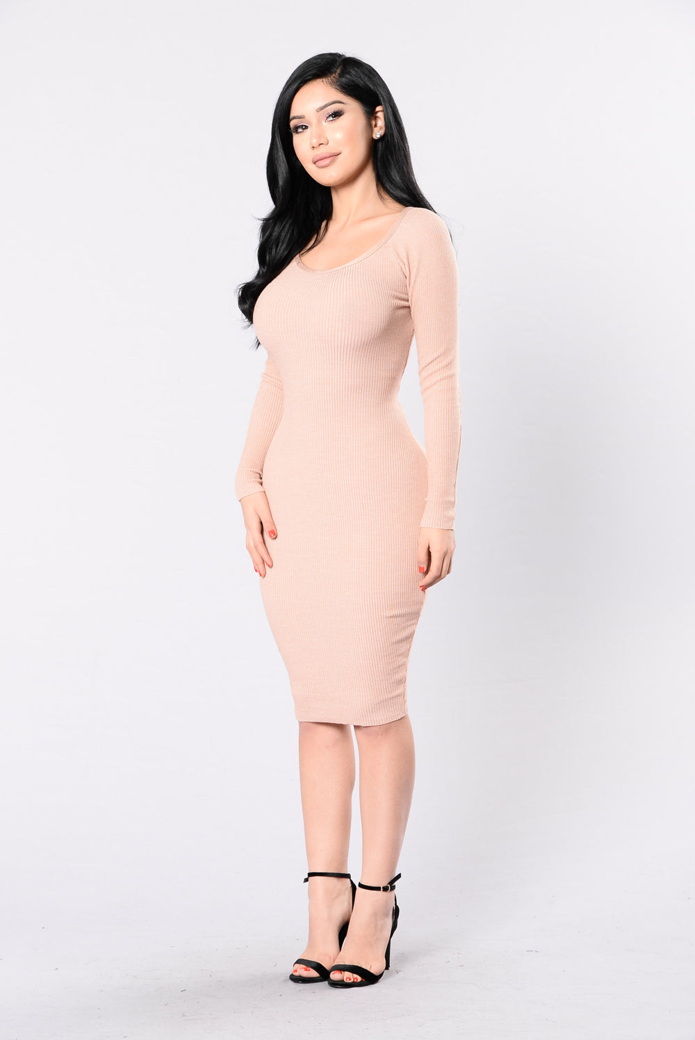 You're Flawless Dress - Dusty Pink
